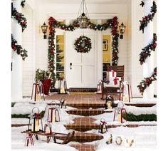 Classic Christmas Porch decor...
