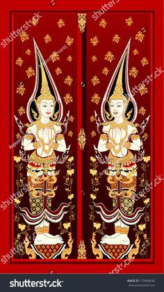 thai temple door & Google Image Result for http://image.shutterstock.com ...
