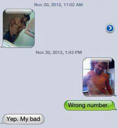 My bad. | The 29 Biggest Sexting Fails Of All Time