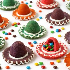 Candy-Filled Sombrero Cookies | Fun Family Crafts