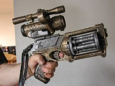 @Marcia Davison - this is for you.  Steampunk Nerf Gun