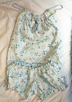 upcycle: Adorable DIY Pajamas made from sheets