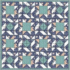 Pale star quilt pattern and tutorial from Ludlow Quilt and Sew