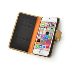 Custom-Made Leather Smartphone Case - Aspen Wallet Case with Hard Shell Enclosure