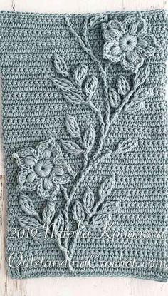 Crochet & Knitting Patterns By Natalia Kononova Irishlacecrochetpattern - Round - Diy Crafts - potitoo Irish Crochet Patterns, Crochet Chart, Crochet Motif, Crochet Designs, Crochet Flowers, Knitting Patterns, Crochet Cable, Crochet Jacket, Knitting Stitches