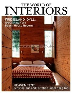 World Of Interiors Magazine Subscription At Café Single Issue