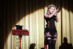 Scarlett Johansson as Olivia Wenscombe in The Prestige