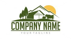 Cattle Farm on 99designs Logo Store