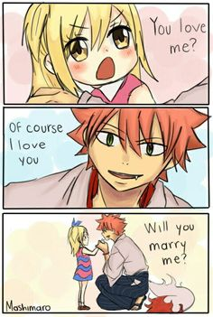 I love the anime that originaly has his scene and I love the nalu version of it