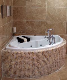 Deep Bathtub, Small Bathroom