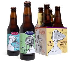 Dogfish Head Repackaging by Matthew Michelson, via Behance
