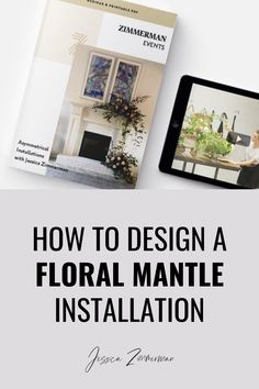 How to Design a Mantle Installation. If you are a wedding floral designer, chances are you've been asked to create a mantle installation. There are many ways you can do mantle flowers for a wedding. In this video tutorial, Jessica Zimmerman will walk you through step by step instructions for how to create an asymmetrical mantle installation, plus frequently asked questions when it comes to flower product related questions. Get answers straight from Jessica's wholesaler! Wedding Mantle, Garland Wedding, Rustic Wedding, Mantle Greenery, Mantles, Zimmerman, Floral Wedding, Floral Arrangements, Wedding Planner