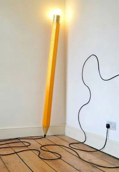 Fantastic pencil lamp !