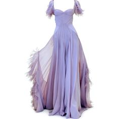 edited by Satinee - Zac Posen PreFall 2013 ❤ liked on Polyvore featuring dresses, gowns, vestidos, long dresses, zac posen dresses, long purple dress, purple ball gown and purple gown