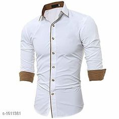 Checkout this latest Shirts Product Name: *Fashionable Cotton Solid Shirt* Fabric: Cotton Sleeve Length: Long Sleeves Pattern: Solid Multipack: 1 Sizes: S, M, L, XL, XXL Country of Origin: India Easy Returns Available In Case Of Any Issue   Catalog Rating: ★4 (295)  Catalog Name: Classico Mens Stylish Cotton Solid Shirts Vol 1 CatalogID_121677 C70-SC1206 Code: 474-1011381-2121