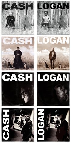 Logan/Johnny Cash Album Covers
