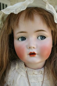 "LARGE Kammer & Reinhardt 117n ""Mein Liebling"" Child Doll with Flirty Eyes"