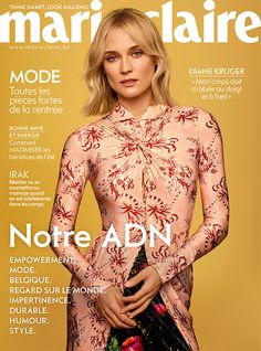Diane Kruger, Marie Claire, Monica Bellucci, Culture, Celebs, Lifestyle, Magazine Covers, Stylish, Fashion