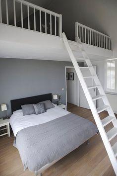 Master bedroom met vide