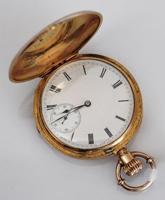 18k Gold Patek Philippe Pocket Watch : Lot 74