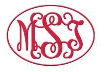 Monogram Decal for Car or Window