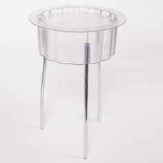 Plexi Tray Side Table