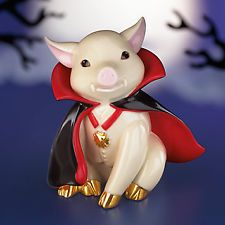 Lenox Dracula Porkula Pig Figurine Bran New in Box | eBay Thanks to my kids I own one of these and he is adorable as are all the other collectables at Lenox.