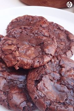 "Flourless Fudge Cookies | ""Loved these. Made them for a tailgate and they were a big hit."""