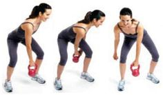 Kick-butt kettlebell workout for women, going to have to try this one out tomorrow!