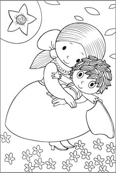 Rumcajs-6 Colouring Pages, Coloring Pages For Kids, Fairy Tale Crafts, Childhood Stories, Easy Christmas Crafts, Baby Time, Diy Art, Embroidery Patterns, Fairy Tales