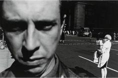 Lee Friedlander - New York City (Self-Portrait) (1948)