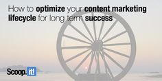 Creating good content is challenging. The bad news? It's just the first step of the content marketing lifecycle. Here's how to optimize it for success. Content Marketing, Digital Marketing, Bad News, Lead Generation, Success, Business, Tips, Inbound Marketing, Business Illustration