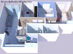 Decorando o Novo Lar: Criando o Modelo 3D do Apartamento