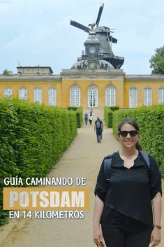 Potsdame makes for a perfect day trip from Berlin! Discover the city centre, Russian Quarter, San Souci Palace and many other things to do in Potsdam. Travel Through Europe, Europe Travel Tips, Travel Around The World, Crown Estate, Potsdam Germany, Walking Map, Berlin, St Peter And Paul, Green Dome