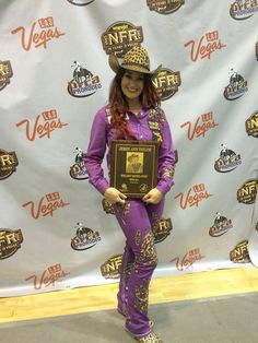 Congrats to Fallon Taylor for becoming the 2014 Barrel Racing World Champion and winning the Jerry Ann Taylor award!