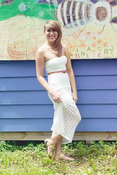 such a fun lace dress for summer! #summer #lace  http://www.redemptionstyle.com/collections/dresses-1/products/bohemian-bliss-crochet-lace-maxi-dress
