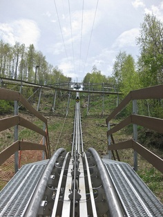 fun, fun alpine coaster in park city utah..every summer with the kids :)