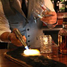 Three Smoky Cocktails