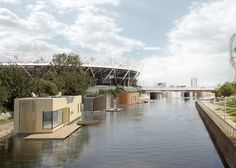 Baca designs floating housing to resolve London housing crisis