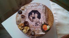 Decoupage Box, Cake, Desserts, Food, Pie, Postres, Mudpie, Deserts, Cakes