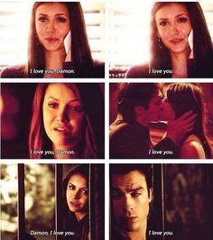 I love you, Delena. - The Vampire Diaires