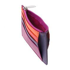 Petit Portefeuille pour Femme en Cuir color/é Porte-Cartes DUDU Rouge