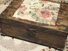 Decoupage, Altered Boxes, Keepsake Boxes, Hope Chest, Hobbit, Language Arts, Decorative Boxes, Marvel, Blog