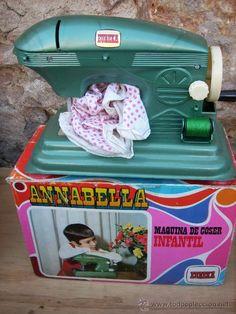 máquina de coser infantil Annabella de Eureka