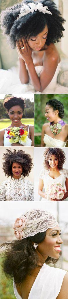 Hairdo Novias Negras  Cabelo Naturale, Pelo natural, #NaturalHair #naturalbeauty #naturalbride