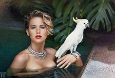 Photos: Jennifer Lawrence Poses For Vanity Fair