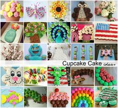photo credit: The Idea Room Cupcakes are perfect for a party. Everyone has their own, no one complains that their piece is bigger than the other and the leftovers are easier to deal with than half … Animal Cupcakes, Easter Cupcakes, Cute Cupcakes, Flavored Cupcakes, Ladybug Cupcakes, Kitty Cupcakes, Decorated Cupcakes, Snowman Cupcakes, Giant Cupcakes