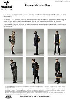 de couvrez la collaboration exclusive entre hummel et la marque de bagagerie japonaise master piece