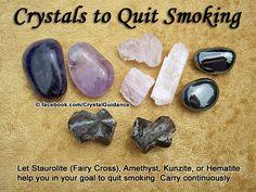 Crystal Guidance: Crystal Tips and Prescriptions - Smoking
