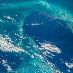Jeff Williams @Astro_Jeff  Sep 3 Bahama reefs and sand waves.